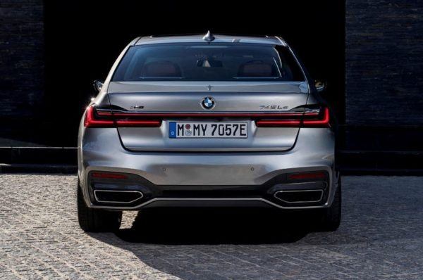 2020 BMW 7 Series Rear View