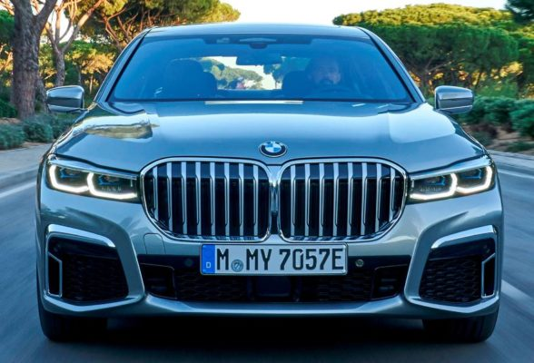 2020 BMW 7 Series front close view