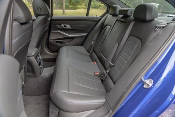 2020 BMW M304i Rear Seats view