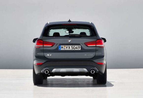 2020 BMW X1 Series Full Rear View