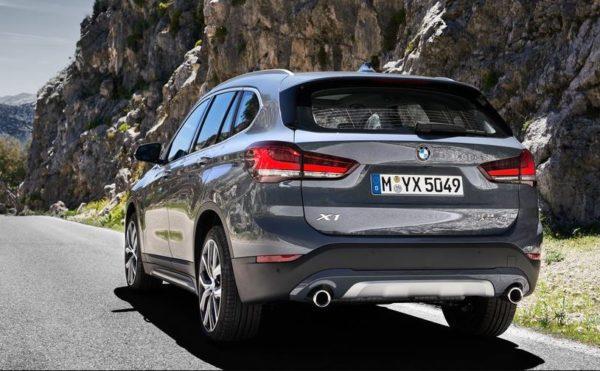 2020 BMW X1 Series Rear View