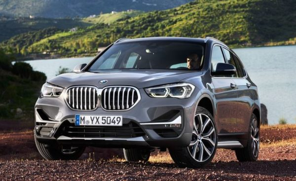2020 BMW X1 Series front close view