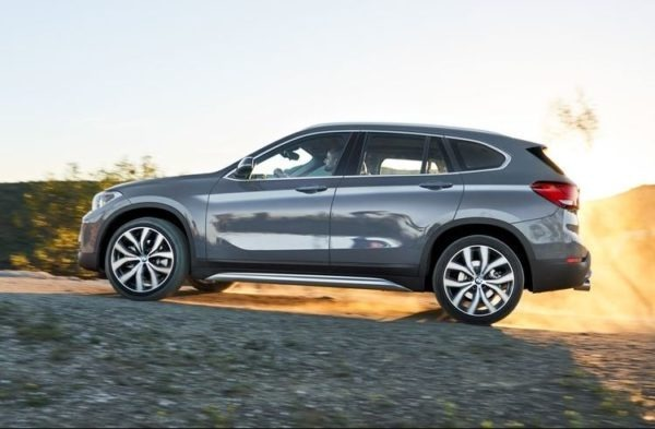 2020 BMW X1 Series side view