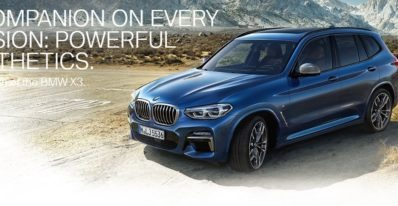 2020 BMW X3 Series Feature image