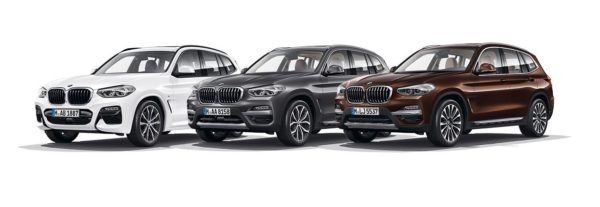 2020 BMW X3 Series More Colors