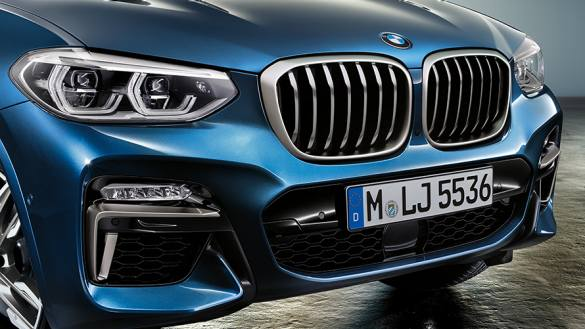 2020 BMW X3 Series front grille close view