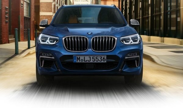 2020 BMW X3 Series front view