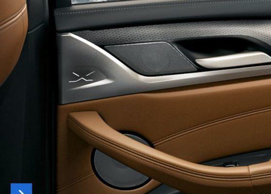 2020 BMW X3 Series interior build quality