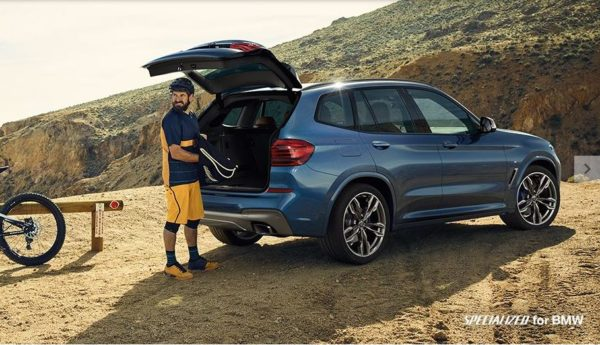 2020 BMW X3 Series luggage area view
