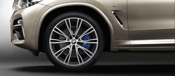 2020 BMW X3 Series wheels view