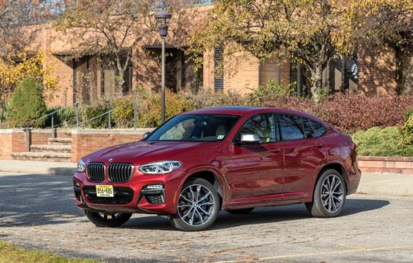 2020 BMW X4 Title image