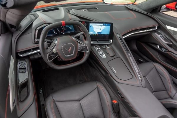 2020 Chevrolet corvette beautiful interior cabin front