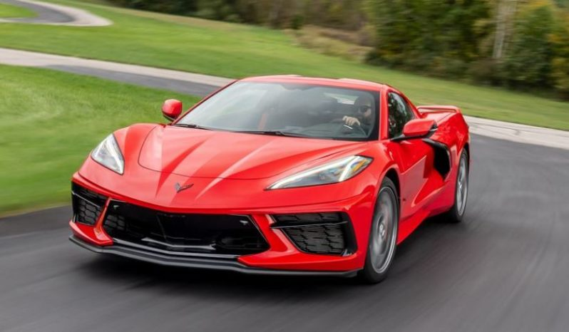 2020 Chevrolet corvette feature image