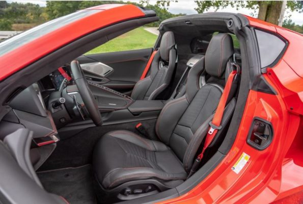 2020 Chevrolet corvette front seats