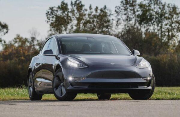 2020 Tesla Model 3 front view