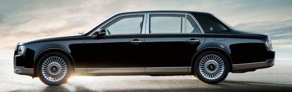 2020 Toyota Century Side View