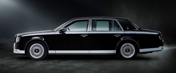 2020 Toyota Century beautiful car side view