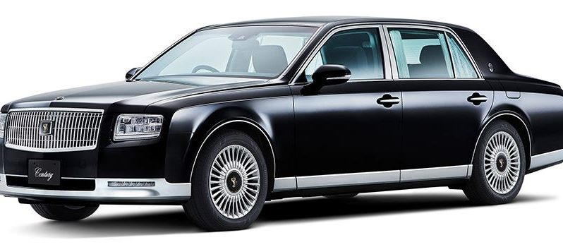 2020 Toyota Century feature image