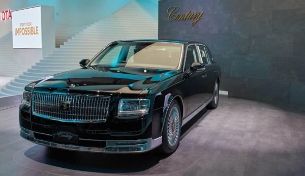 2020 Toyota Century front view