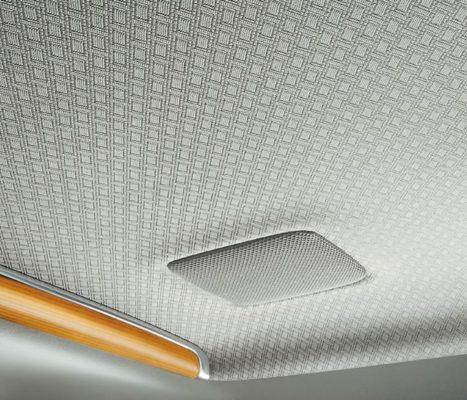 2020 Toyota Century roof view