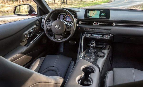 2020 Toyota supra Interior front cabin view