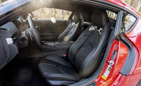 2020 Toyota supra front seats