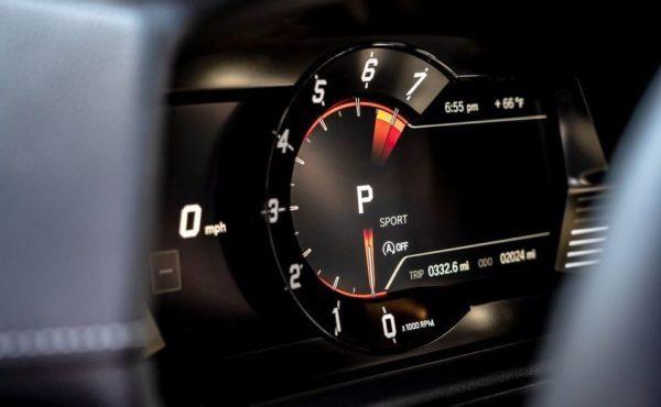 2020 Toyota supra information cluster
