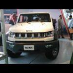 2020 BAIC BJ40L off Road SUV interior, Exterior Walk Around Video Displayed at Pakistan Auto Show 2020