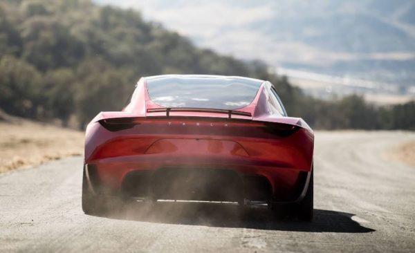 2021 Tesla Roadster full rear view