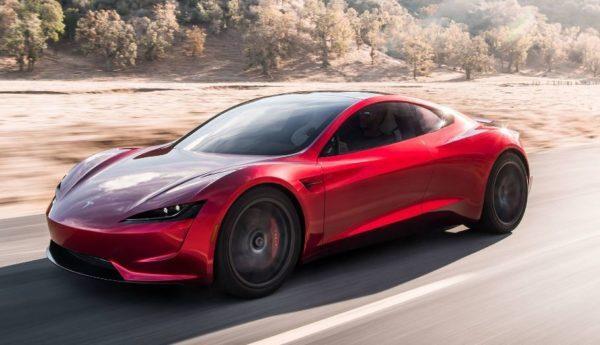 2021 Tesla Roadster side view
