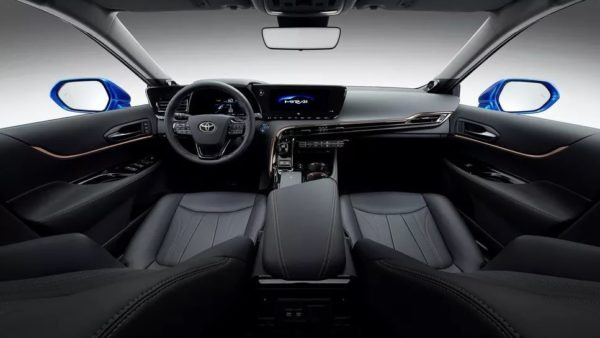 2021 Toyota Mirai Awesome Interior front cabin