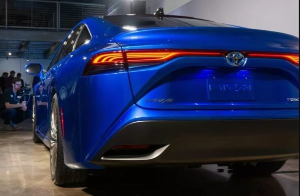 2021 Toyota Mirai Awesome full rear view