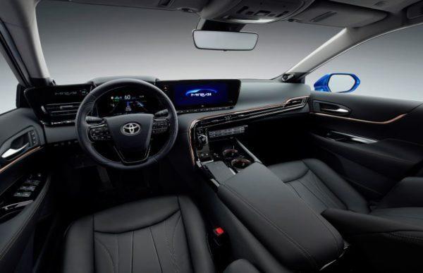 2021 Toyota Mirai full front cabin interior