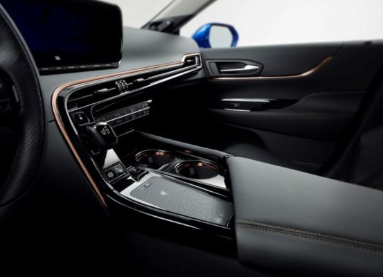 2021 Toyota Mirai interior build quality
