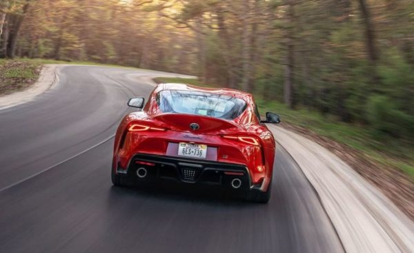2020 Toyota Supra Rear View