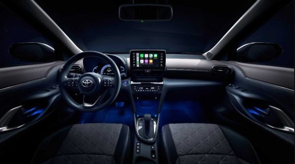 2021 Toyota Yaris Cross front cabin interior