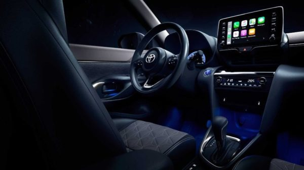 2021 Toyota Yaris Cross interior styling