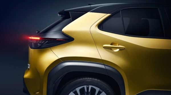 2021 Toyota Yaris Cross tail lights styling