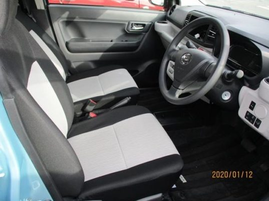 8th Generation Daihatus Mira front seats