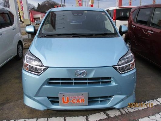 8th Generation Daihatus Mira front view close