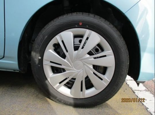 8th Generation Daihatus Mira wheels
