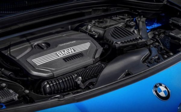 BMW 2 Series X2 SUV engine view 1