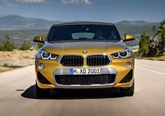 BMW 2 Series X2 SUV front close view 1