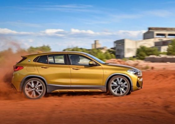 BMW 2 Series X2 SUV side view 1