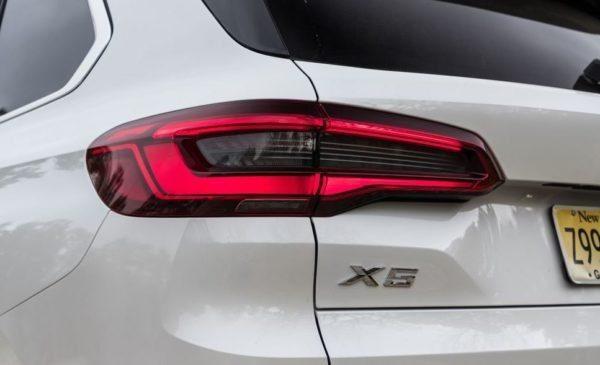 BMW 5 Series xDrive40i rear tail lights