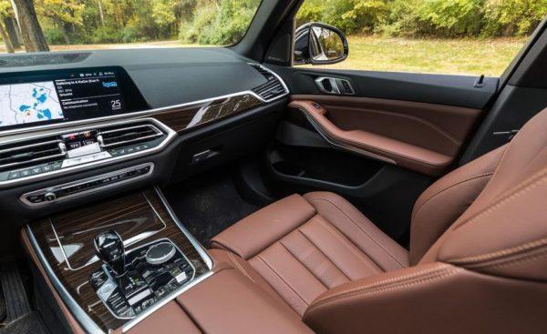 BMW 5 Series xDrive40i seats build quality
