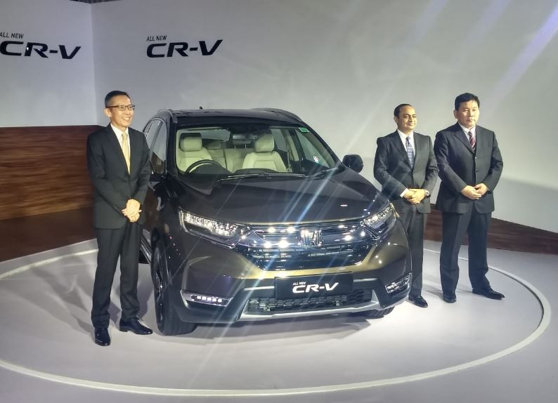 BS6 Comply Honda CR-V introduced in India