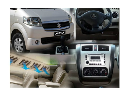 Suzuki APV interior features