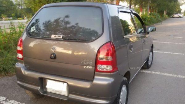 Suzuki Alto VX VXR Rear View