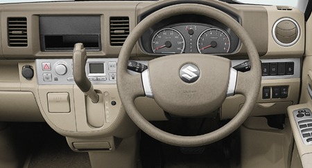 Suzuki Every Wagon Steering Tranmission view